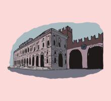 Gran Guardia Palace,Verona Kids Tee