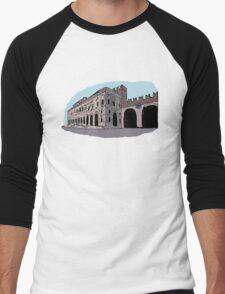 Gran Guardia Palace,Verona Men's Baseball ¾ T-Shirt