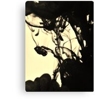 Ink Spill Canvas Print