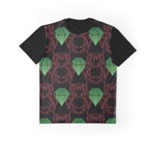 Emeralds & Demons [BLACK] Graphic T-Shirt
