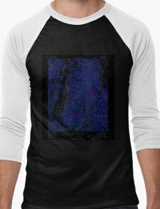 USGS TOPO Map Alabama AL Bishop 303257 1950 24000 Inverted Men's Baseball ¾ T-Shirt