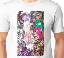 Vento aureo Diavolo JoJo collage Unisex T-Shirt