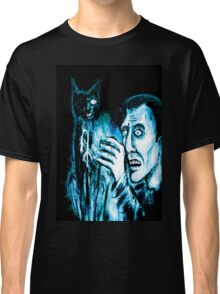 The Black cat reveals the gallows Classic T-Shirt
