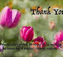 Gratitude to Volunteers by Marilyn Cornwell