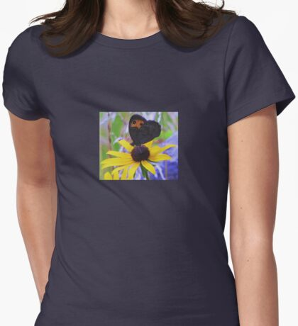 Butterfly on Rudbeckia T-Shirt