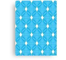 Abstract Emeralds [BLUE] Canvas Print