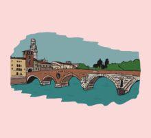 Stone Bridge,Verona Kids Tee