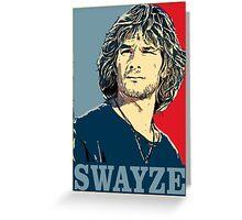 Patrick Swayze Greeting Card