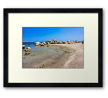 Kathara Beach Framed Print