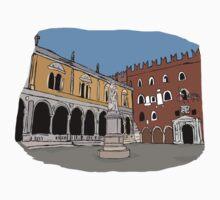 Signori Square,Verona One Piece - Short Sleeve