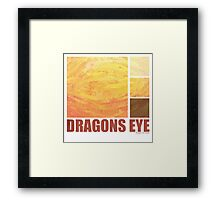 Dragons Eye Framed Print