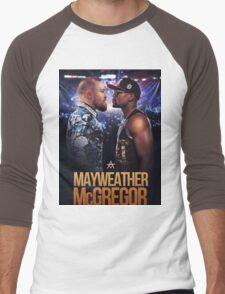 mayweather vs mcgregor Men's Baseball ¾ T-Shirt