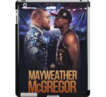 mayweather vs mcgregor iPad Case/Skin