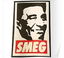 Red Dwarf Smeg Cat  Poster