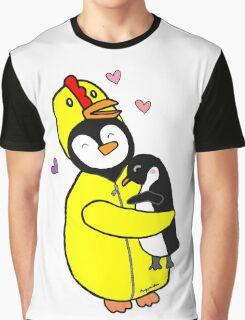 Penguin Hugs Graphic T-Shirt
