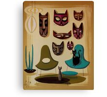 Tiki Time Canvas Print
