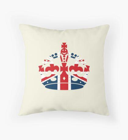 British Coronation Throw Pillow
