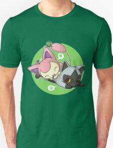 Skitty and Poochyena Unisex T-Shirt