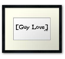 Guy Love from Scrubs Framed Print
