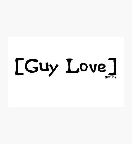 Guy Love from Scrubs Photographic Print