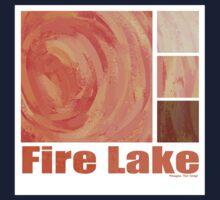 Fire Lake One Piece - Short Sleeve