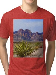 Red Rock Canyon Tri-blend T-Shirt
