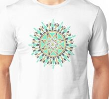 Mint & Gold Mandala Unisex T-Shirt