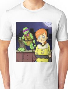 Tmnt- April and Donnie Unisex T-Shirt