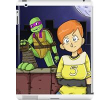 Tmnt- April and Donnie iPad Case/Skin