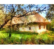 old Ukrainian house Photographic Print