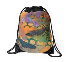 Insects that Fly Drawstring Bag