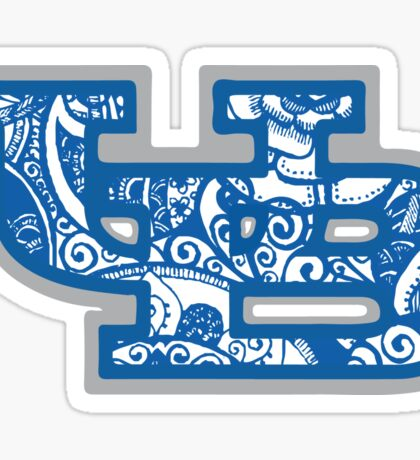 University at Buffalo Doodle Sticker