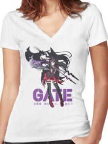 Rory Mercury - Gate Anime Women's Fitted V-Neck T-Shirt