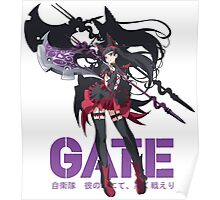 Rory Mercury - Gate Anime Poster