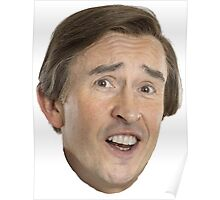 Alan Partridge - A-HA Poster