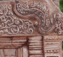 Angkor Temple Mystery Sticker