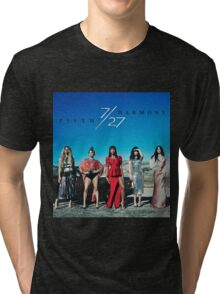 Fifth Harmony 7/27 Album Cover Tri-blend T-Shirt