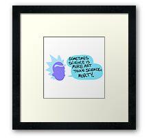 Doctor Rick Framed Print