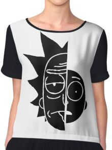 RickMorty Chiffon Top