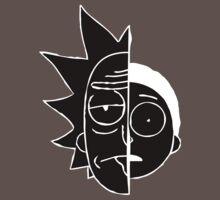 RickMorty One Piece - Short Sleeve