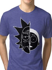 RickMorty Tri-blend T-Shirt