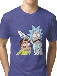 MortyRick Tri-blend T-Shirt