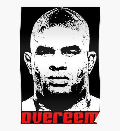 Alistair Overeem Poster