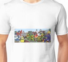 tmnt and transformers Unisex T-Shirt