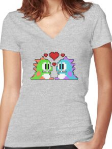 Bub nd Bob Women's Fitted V-Neck T-Shirt