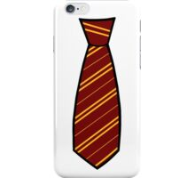 Gryffindor-Tie iPhone Case/Skin