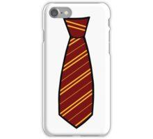 Gryffindor-Tie iPhone Case/Skin