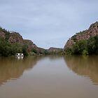 Katherine Gorge. Northern Territory.  Australia. by Kay Cunningham