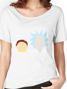 RickMorty Women's Relaxed Fit T-Shirt
