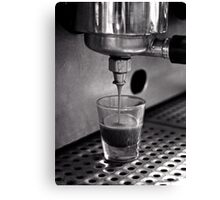 Film Days:  Coffee Shot Canvas Print